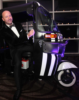 A TukTuk I have just completed for Alan Shearer's Charity Auction
